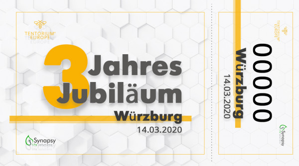 Würzburg, 14.03.2020, Ticket