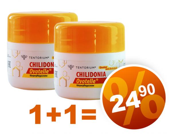 Tentorium 2 x Creme Chilidonia (50 ml)